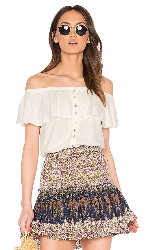 Free People Love Letter Tube Top in White