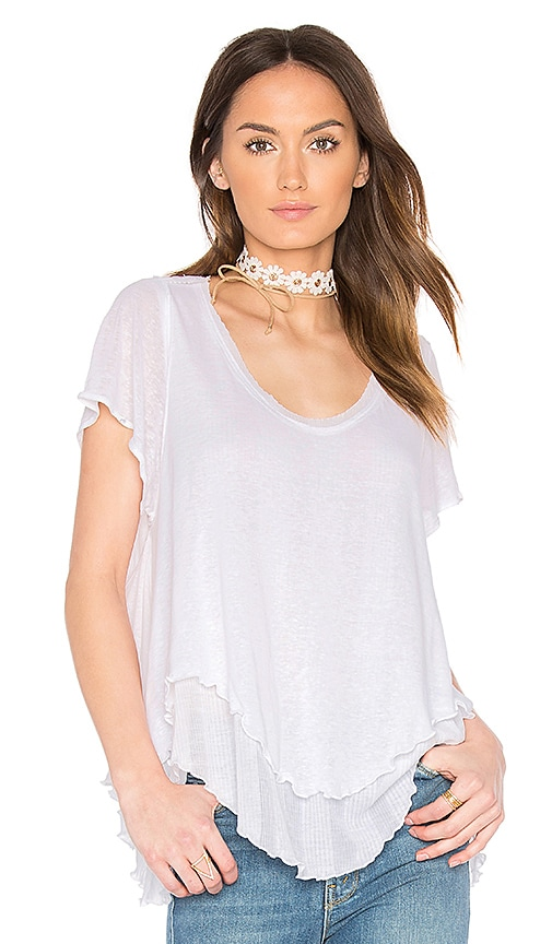 Free People Cookie Tee in White