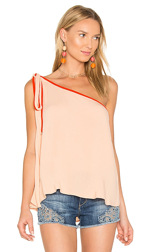 Free People You're The One Top in Orange