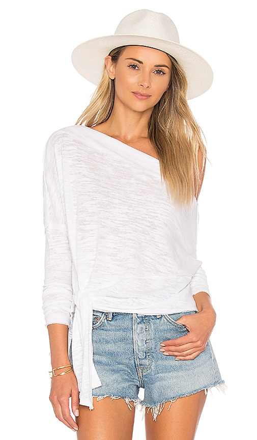 Free People Love Lane Tee in White