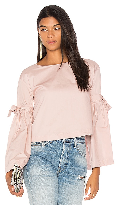 Free People So Obviously Yours Top in Pink