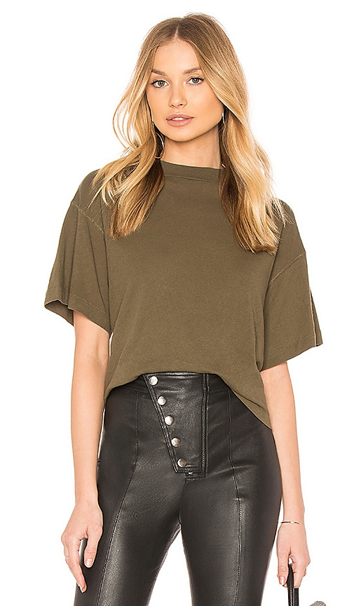 Free People Need You Tee in Green