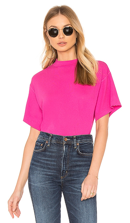 Free People Need You Tee in Pink