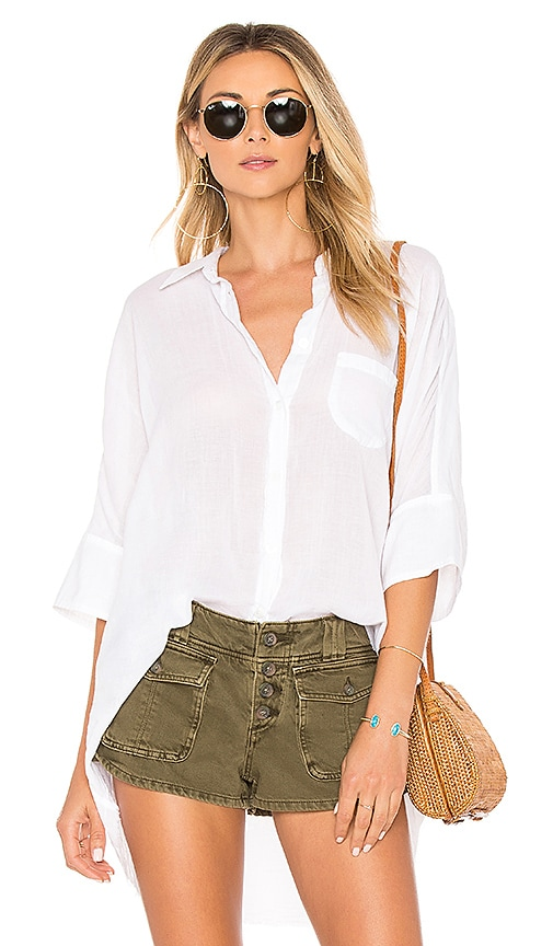 Free People Best Of Me Top in White