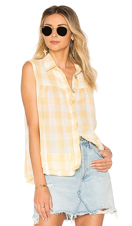 Hey There Sunrise Button Down