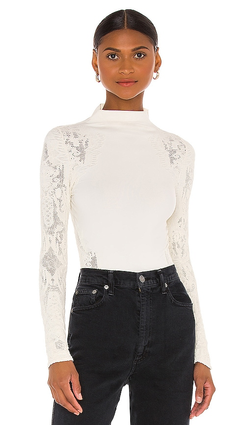 Free People NO TURNING BACK TOP
