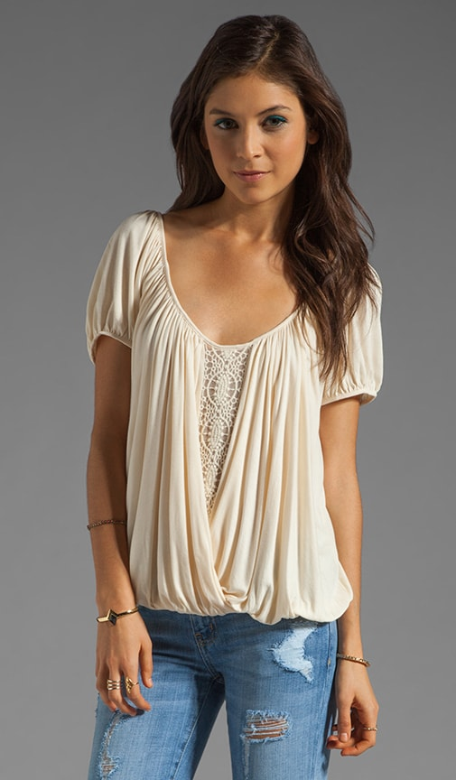Ann's Ruched Top