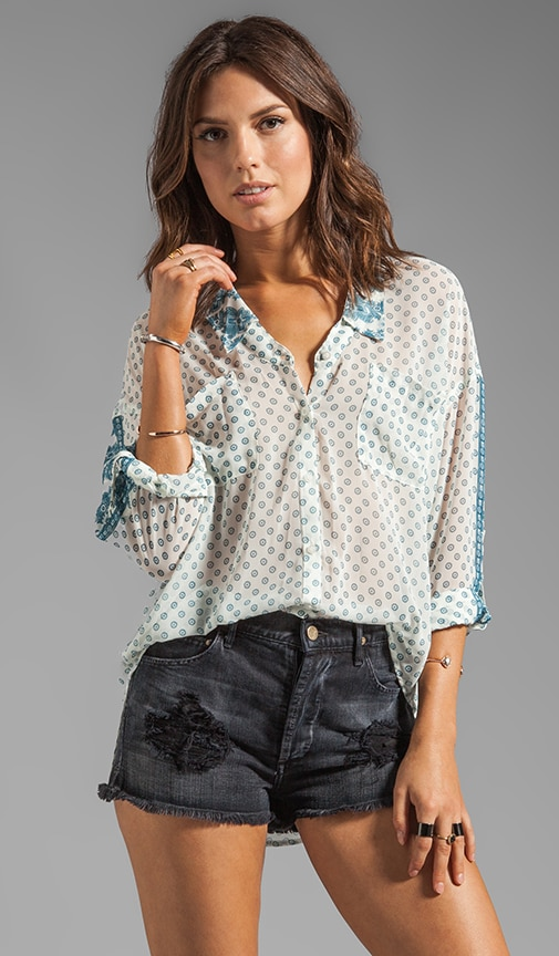 Printed Easy Rider Button-down