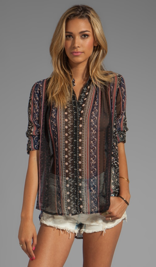 Moonlight Mile Woven Top