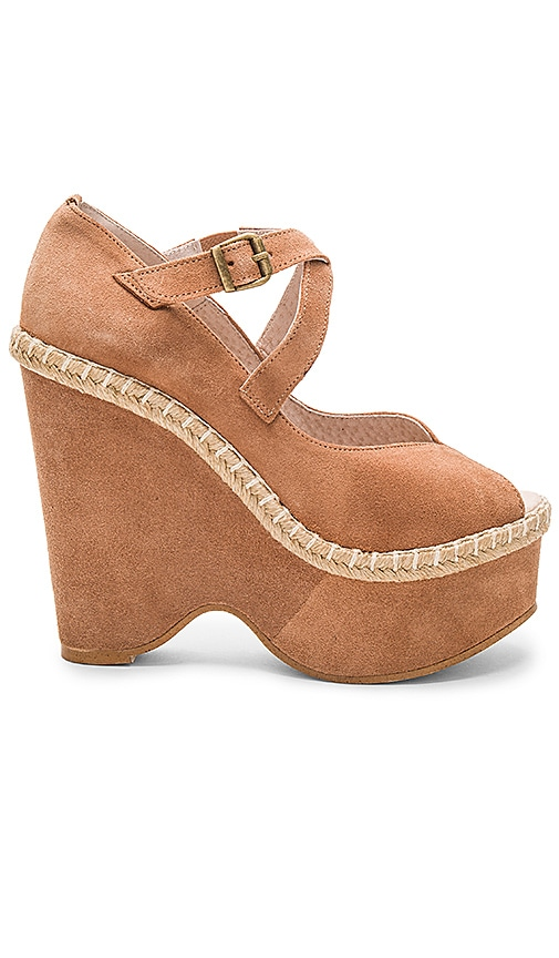 Free People Terrace Platform in Tan