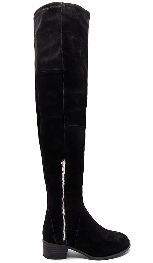 Free People Everly Tall Boot in Black
