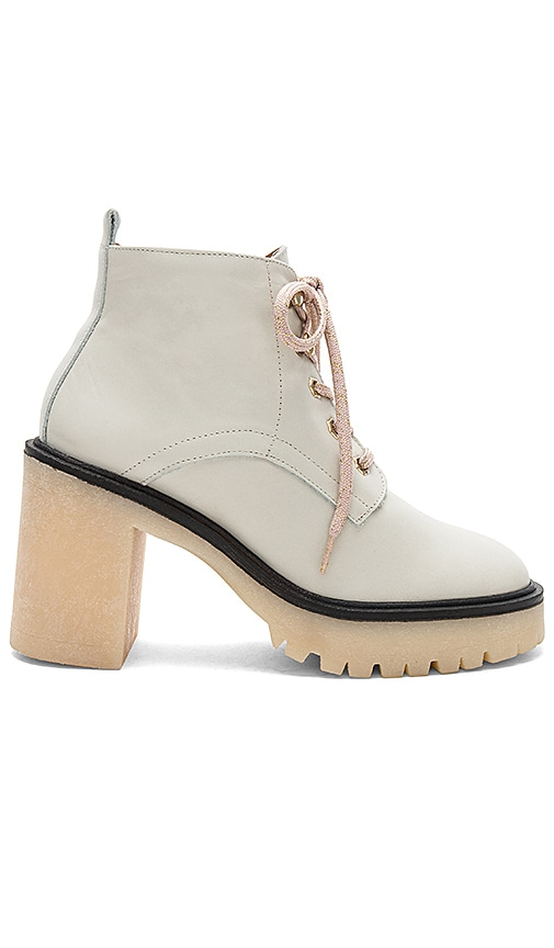 Free People Sydney Hiker Boot in Ivory