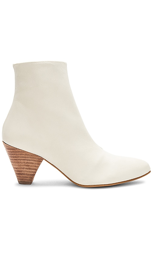 Free People Aspect Heel Boot in Ivory