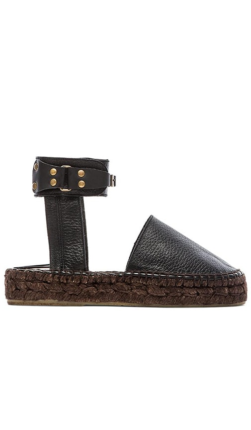 Free People Aurora Espadrille in Black