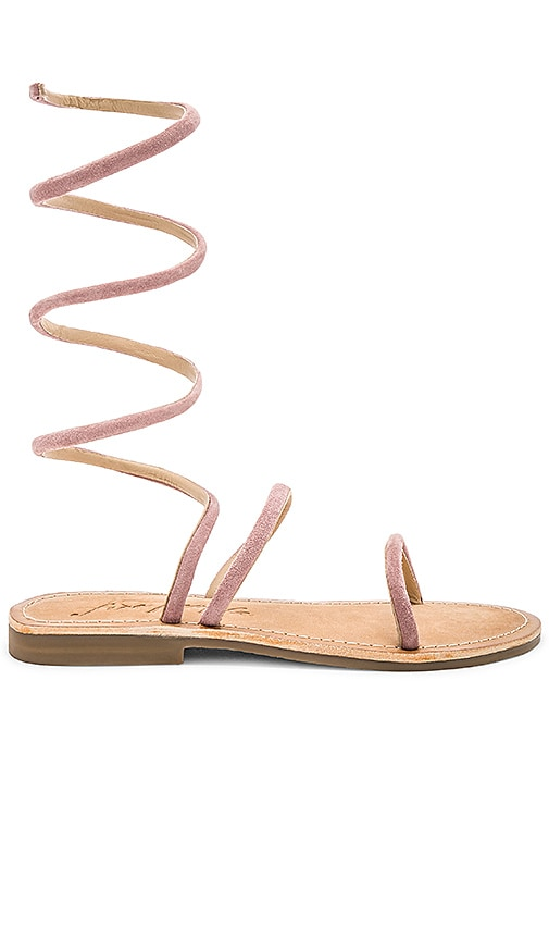 Havana Gladiator Sandal in Pink. - size 36 (also in 37,39) Free People