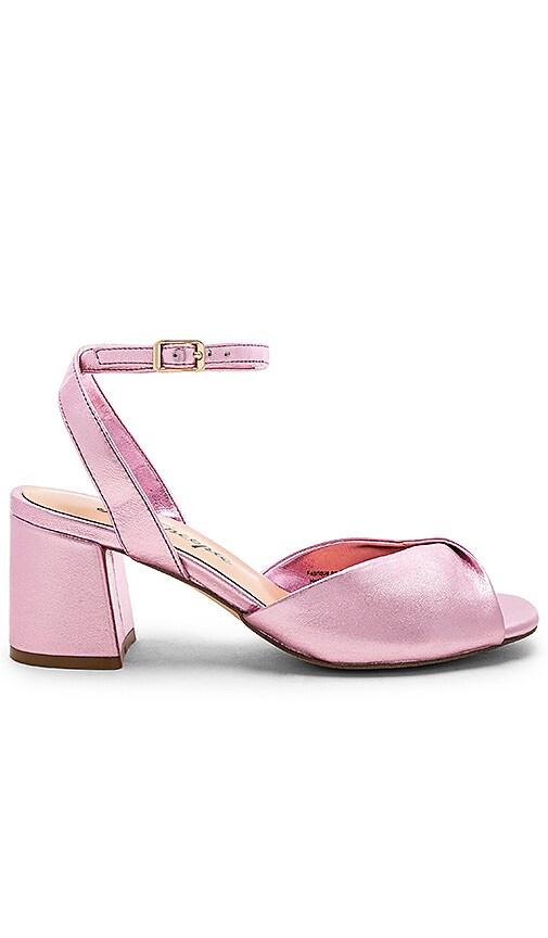 Free People Gisele Block Heel Sandal in Pink