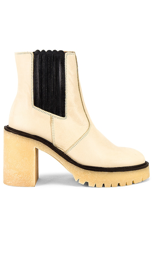 Free People James Chelsea Boot in White