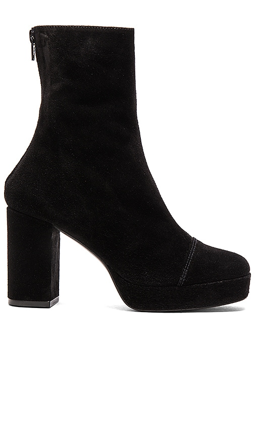 Free People Day For Night Platform Boot in Black