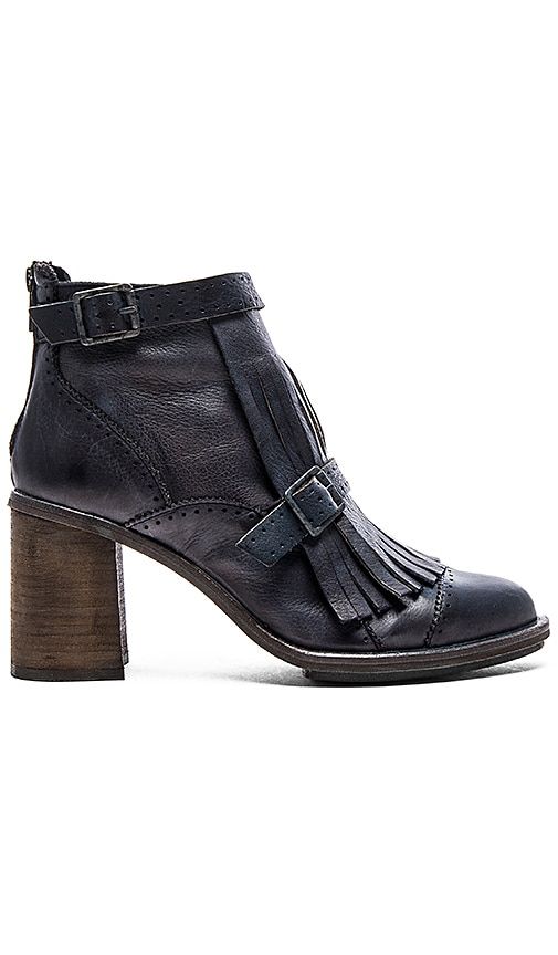 Free People Circle Back Heel Boot in Black