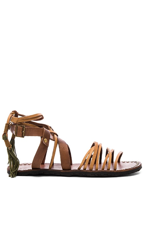 Free People Willow Sandal in Tan & Safari