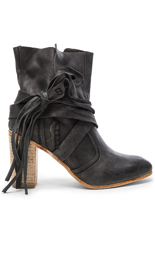 Free People Seven Wonders Booties in Charcoal