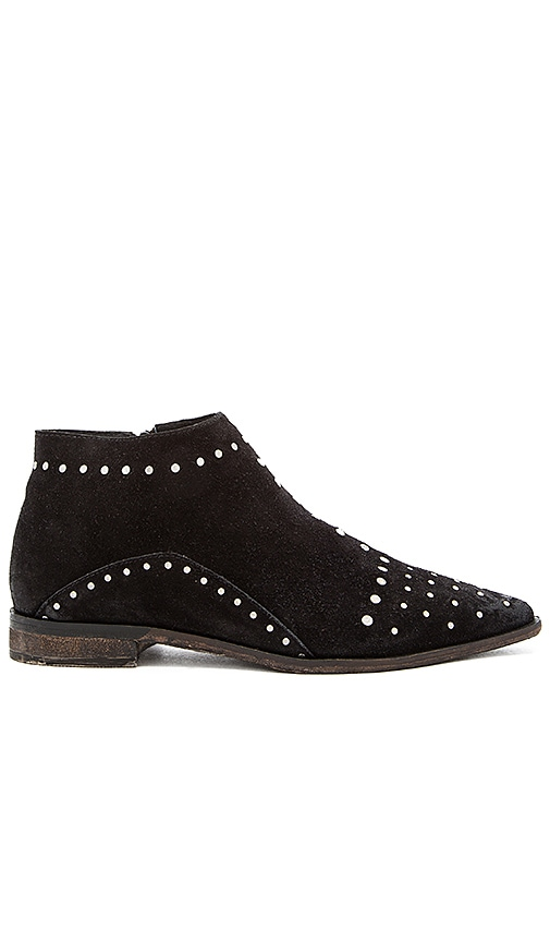 Free People Aquarian Ankle Bootie in Black