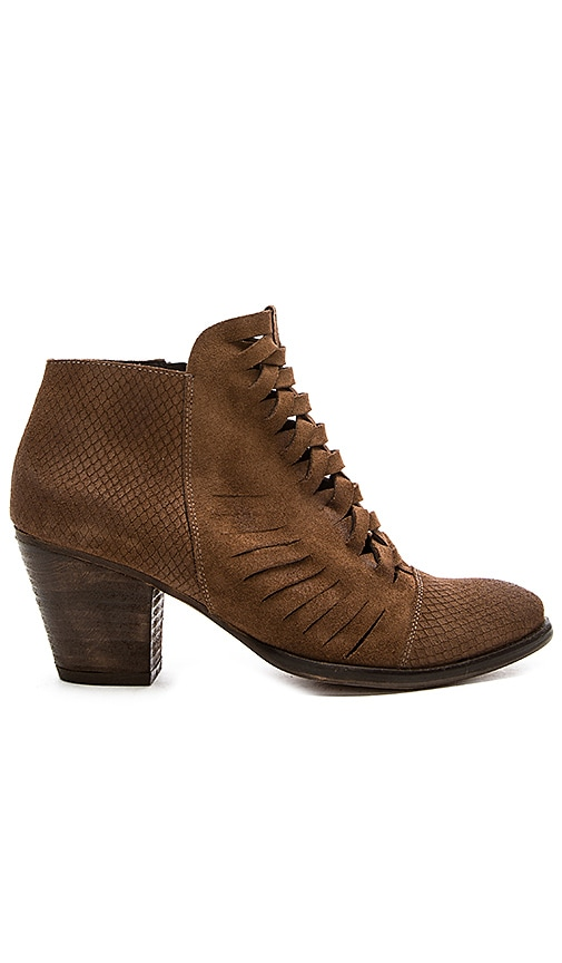 Free People Loveland Ankle Bootie in Brown