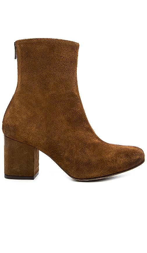 Free People Cecile Ankle Bootie in Cognac