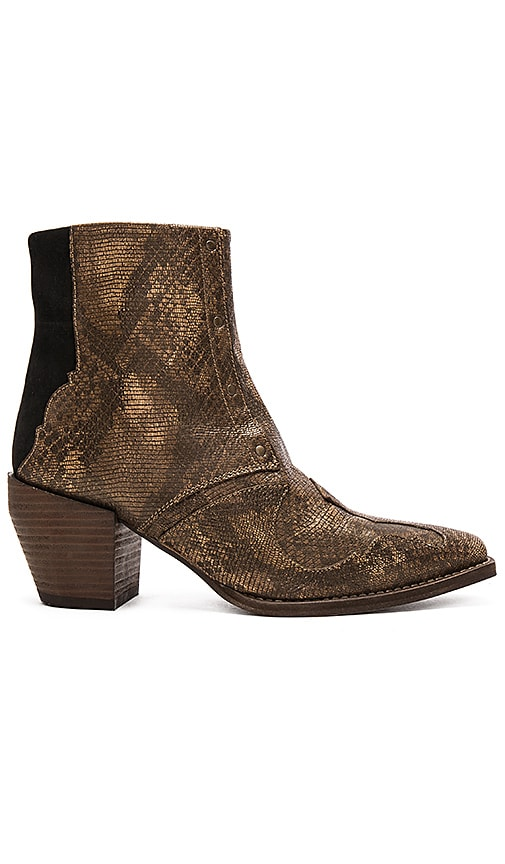 Free People Nevada Thunder Ankle Bootie in Brown