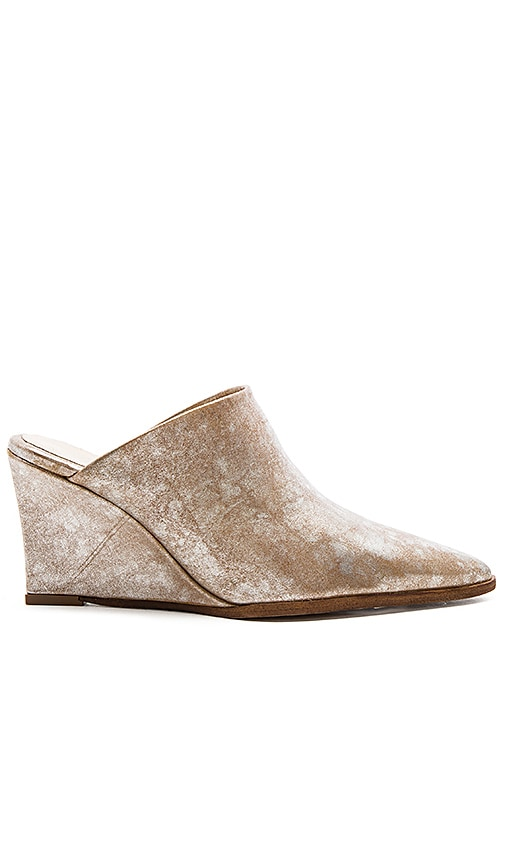Free People Galactica Mule in Metallic Silver