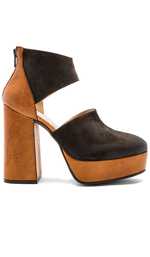 Free People Luxor Platform Heel in Brown