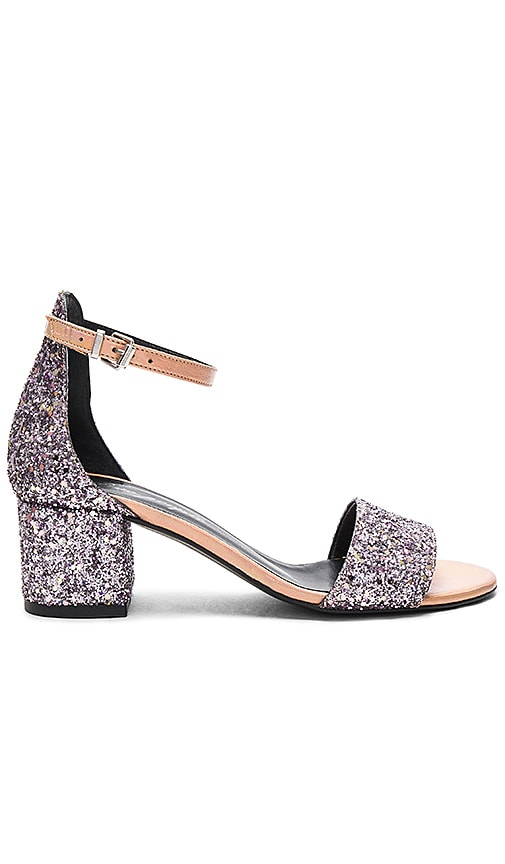 Free People Marigold Block Heel in Purple