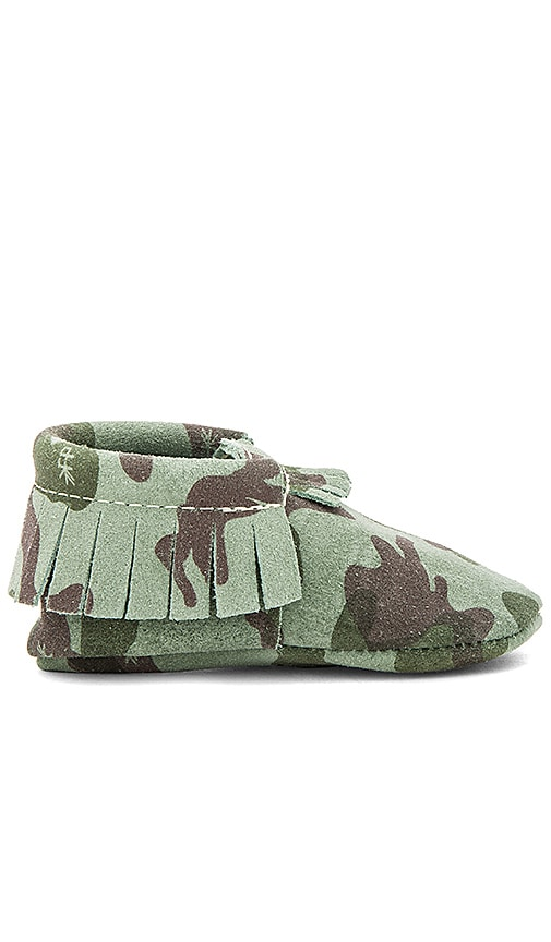 Freshly Picked Moccasin in Green