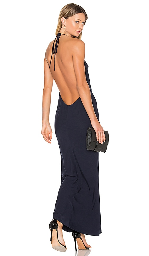 FAME AND PARTNERS X REVOLVE Lux Maxi Dress in Navy