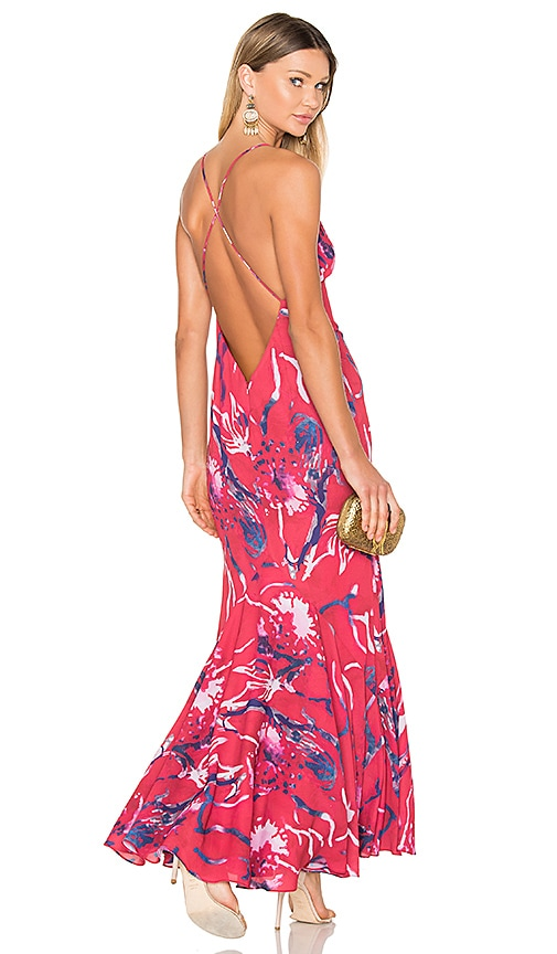 Fame And Partners X Revolve Jackson Maxi Dress In Print Revolve
