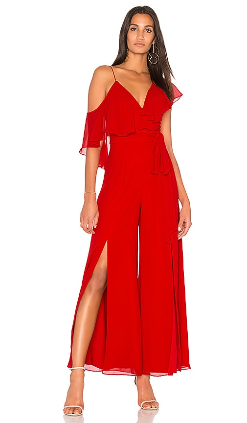 FAME AND PARTNERS x REVOLVE Jumpsuit in Red