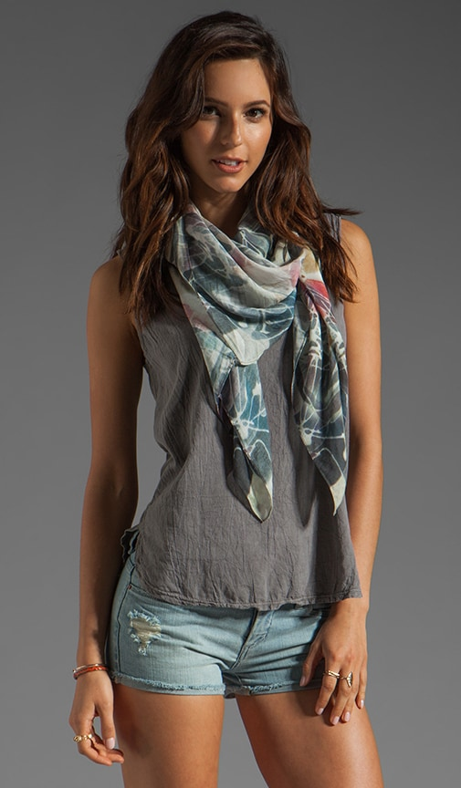 Frosted Flower Scarf