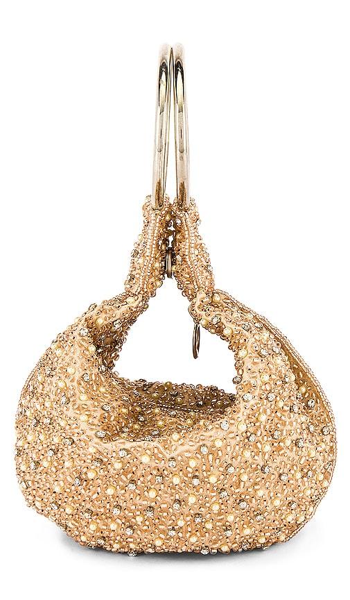From St Xavier Mini Pearl Ring Bag