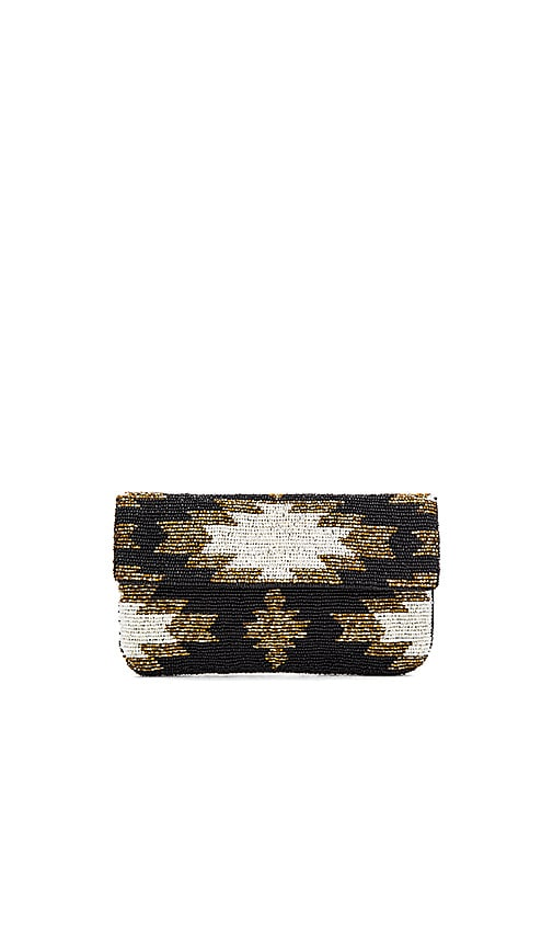 From St Xavier Ayla Clutch in Black