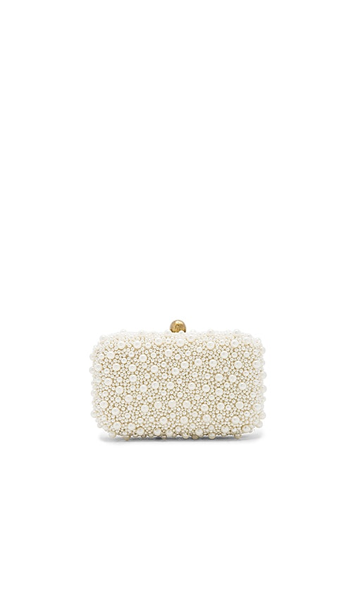 From St Xavier x REVOLVE Clutch in White