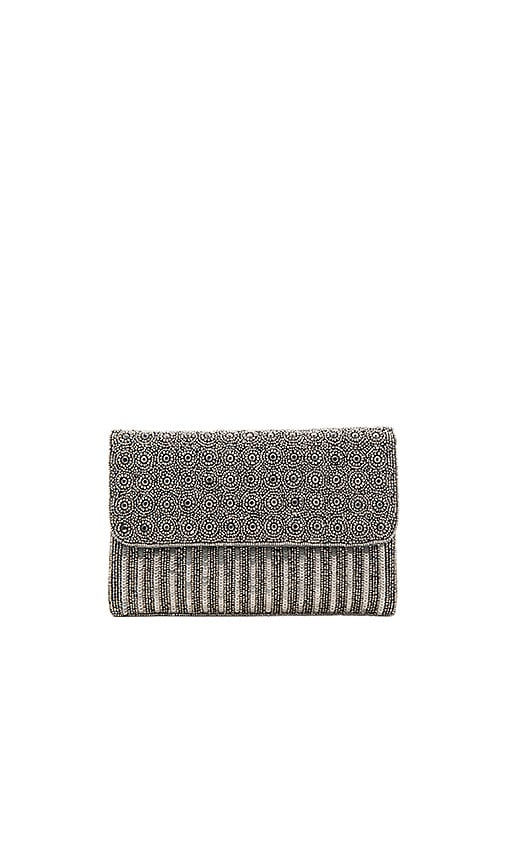 From St Xavier Mel Clutch in Charcoal