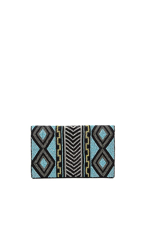 From St Xavier Akua Clutch in Turquoise
