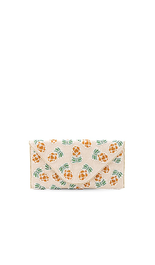 From St Xavier Pina Clutch in White