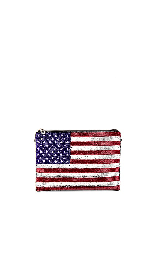 From St Xavier USA Clutch in Red