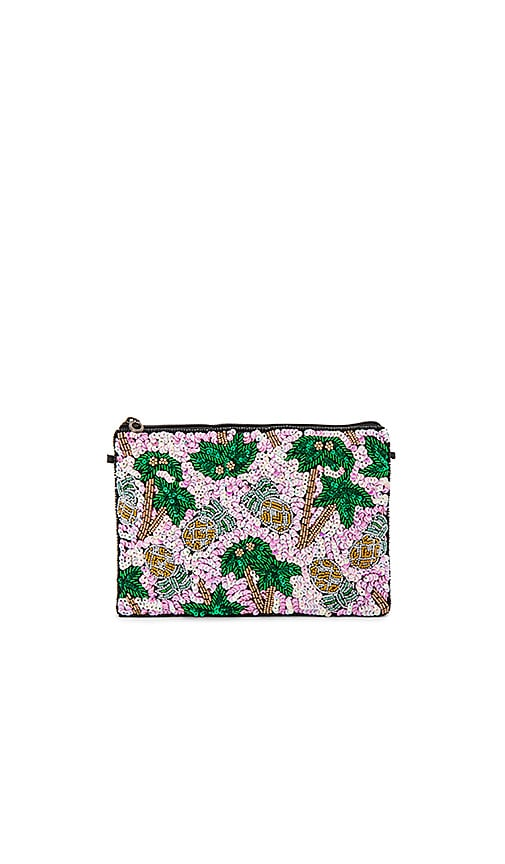 From St Xavier Pammie Clutch in Pink