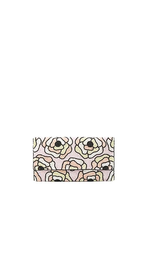 aaeb25e87ad1fd From St Xavier Flora Clutch in Multi Color