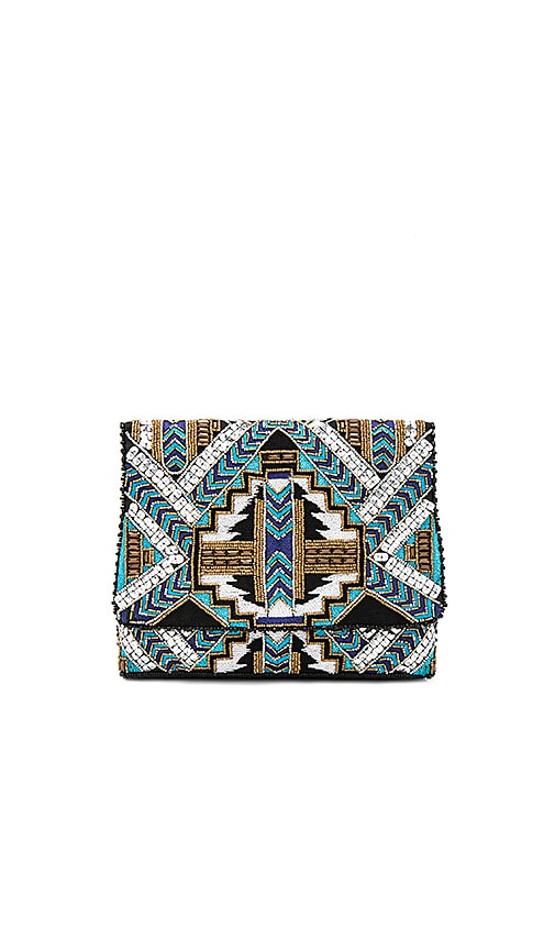 From St Xavier Kato Clutch in Blue