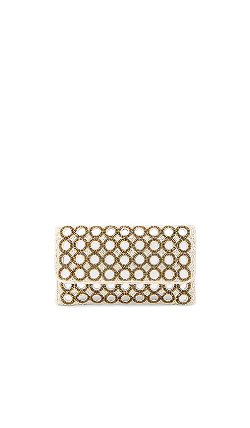 From St Xavier Epiphany Clutch in Ivory