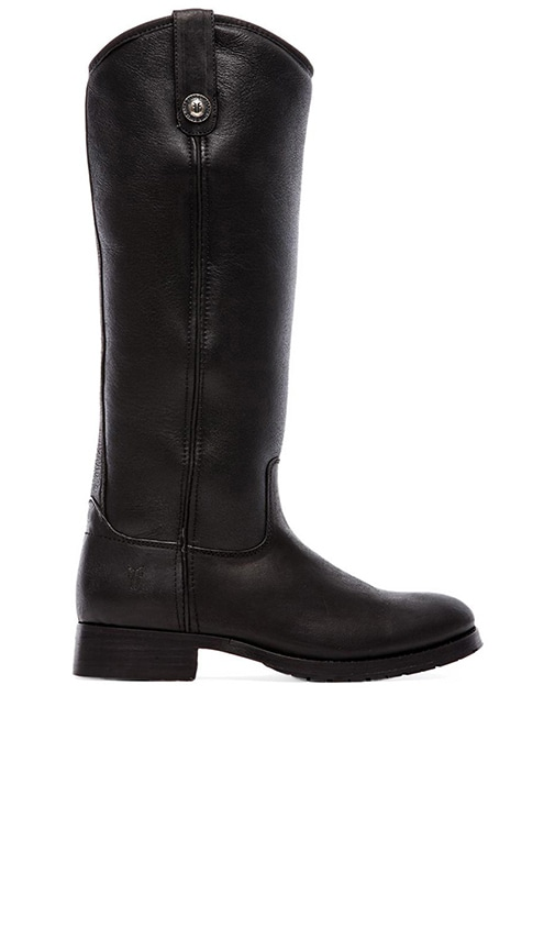 Melissa Button Boot with Sheep Shearling