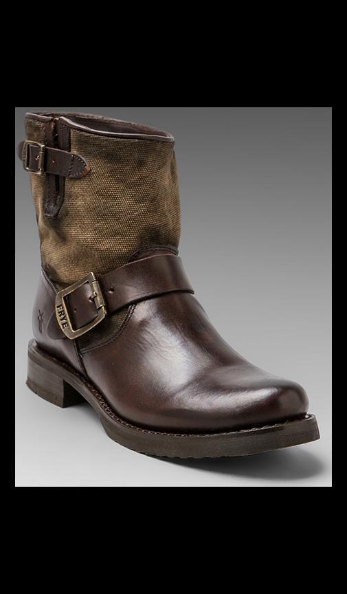 Veronica Canvas Shortie Boot